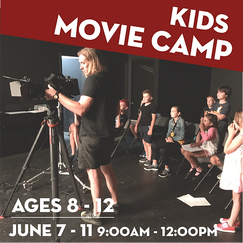 Movie Camp for Kids - June 7-11