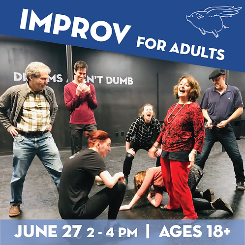Improv for Adults Workshop