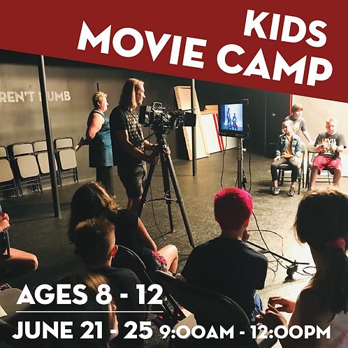 Movie Camp for Kids - June 21-25
