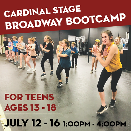 Cardinal Stage @BAFT: Broadway Bootcamp for Teens