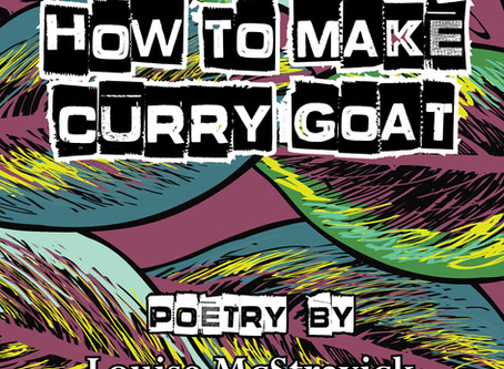 Cover Reveal! How To Make Curry Goat by Louise McStravick