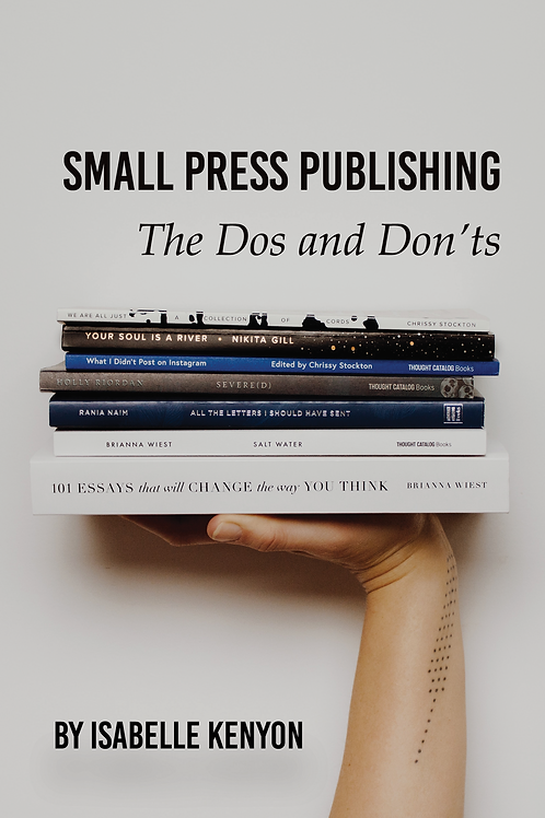 Small Press Publishing: The Dos and Don'ts
