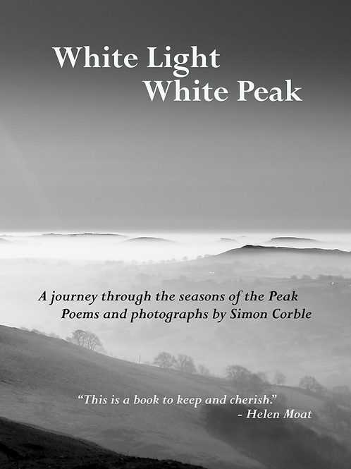 "Hardback: ""White Light White Peak"" by Simon Corble"