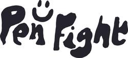 pen fight logo black