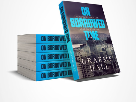 'On Borrowed Time' by Graeme Hall: Cover Reveal and Preview Blog Tour