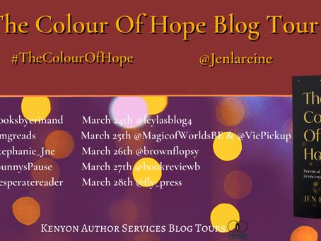 Blog Tour: The Colour of Hope by Jen Feroze