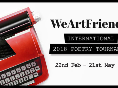 WeArtFriends Launches International Poetry Competition