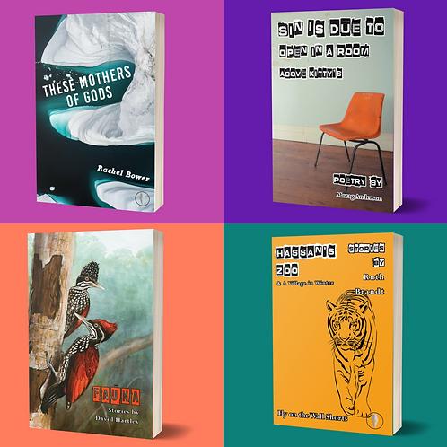 Summer-Autumn 2021 4 book subscription
