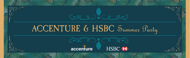 Accenture & HSBC 活動橫額設計