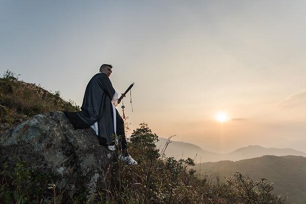 Master Titan 林俊熙師傅在大金鐘進行拍攝