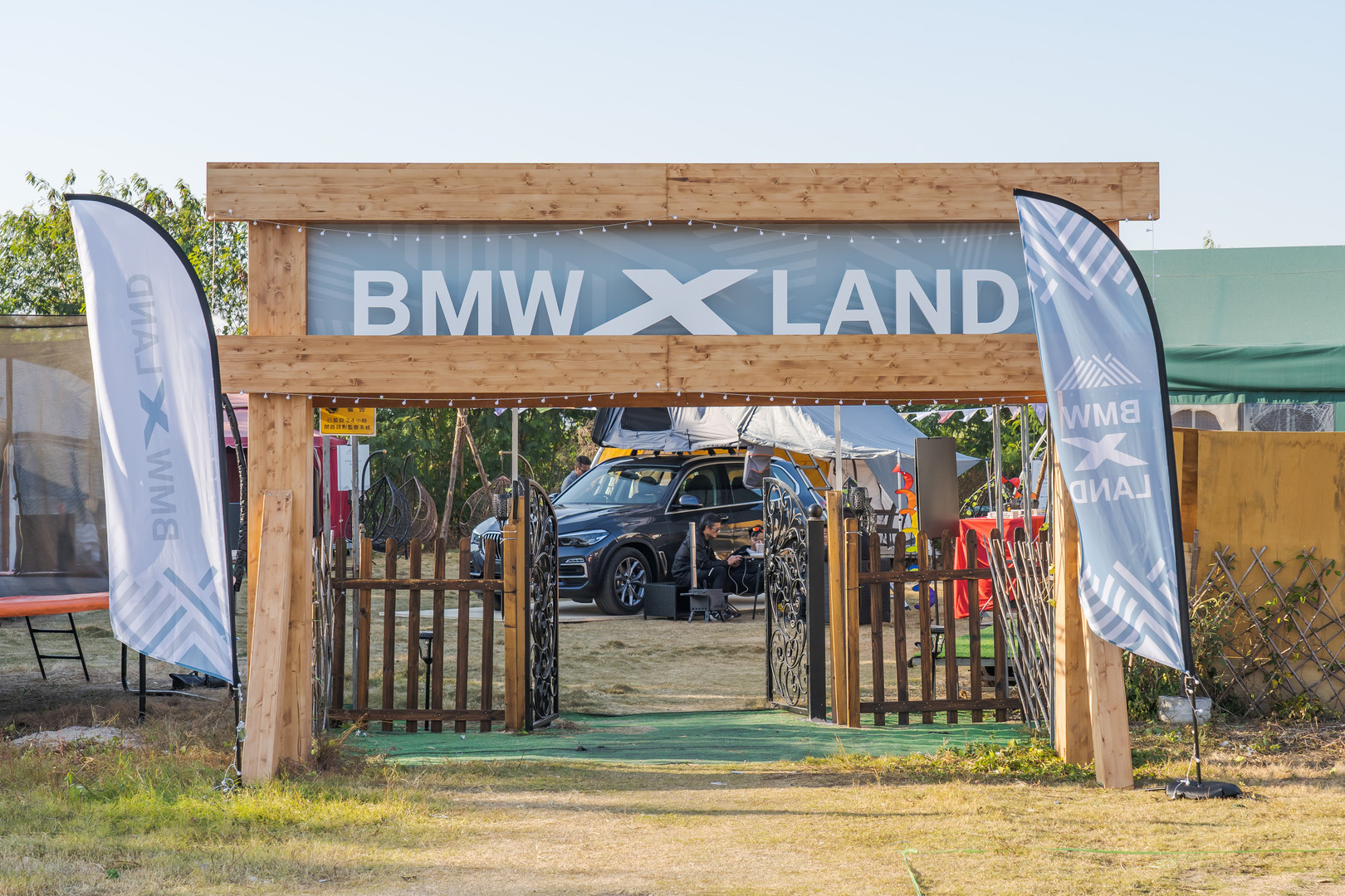BMW x LAND event photography