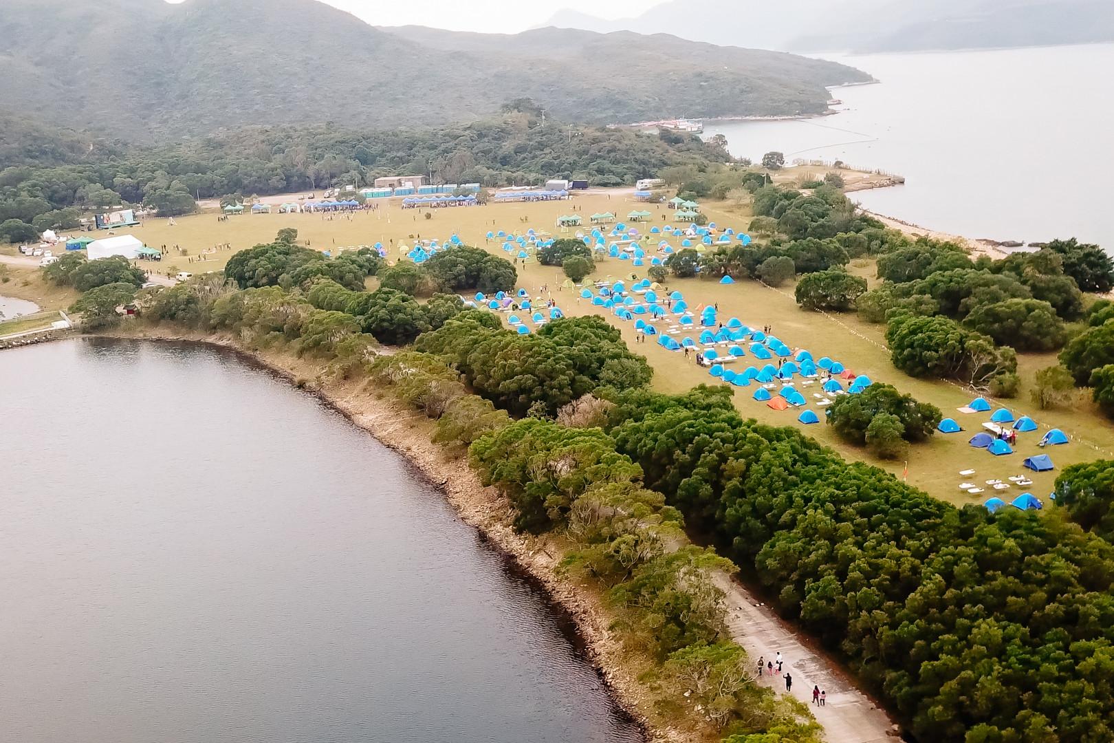 GoGoCamp西貢營地航拍照片