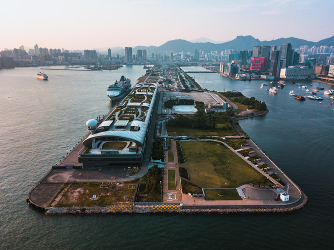 Hong Kong Aerial Photo