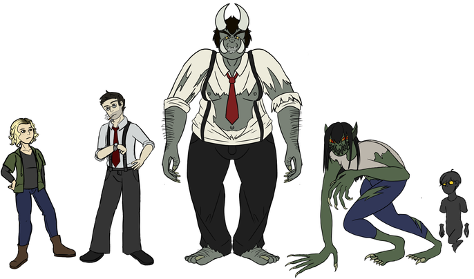 5 Character Concepts