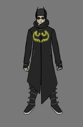 Cyberpunk Batman
