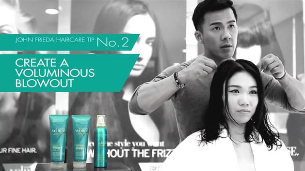 KAO John Frieda Haircare Online Spot I