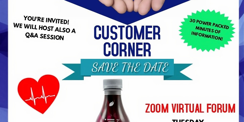 Zoom Nutritional Event