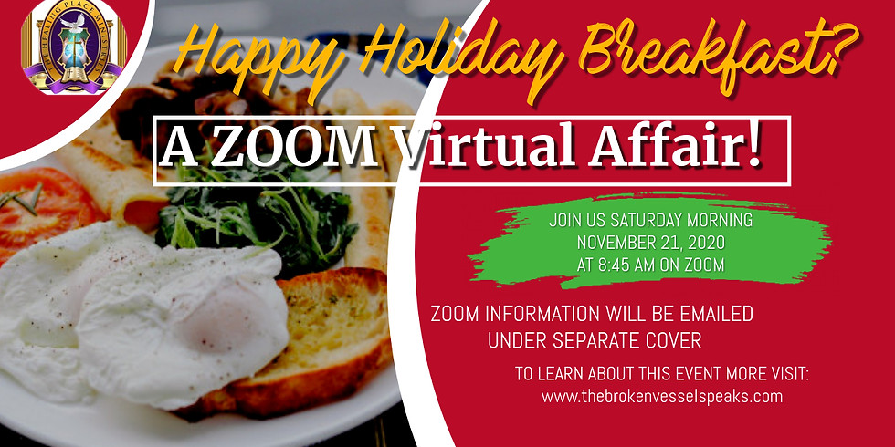 The Healing Place Virtual Holiday Breakfast