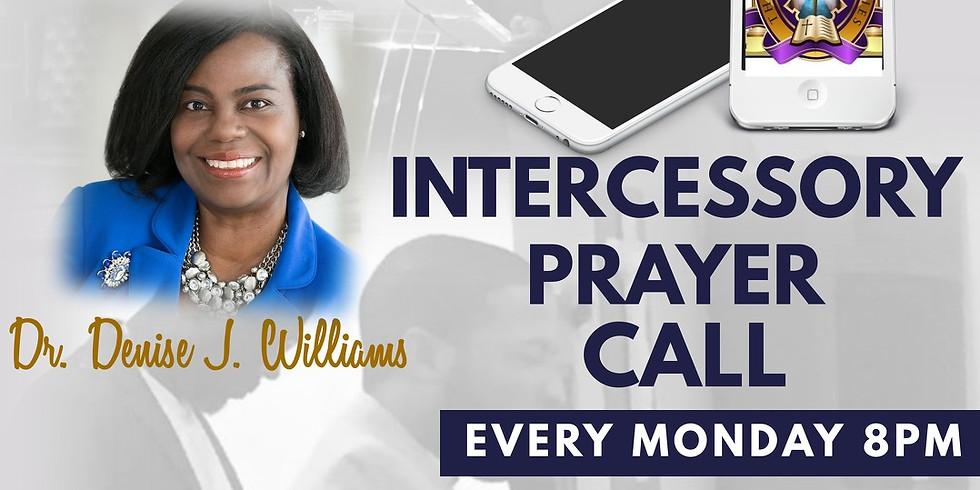 Weekly Monday Evening Prayer