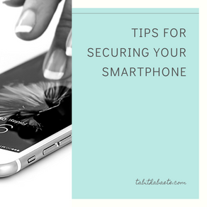 Tips for securing your smartphone
