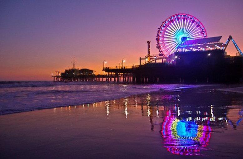 Pacific Park on the Santa Monica Pier -