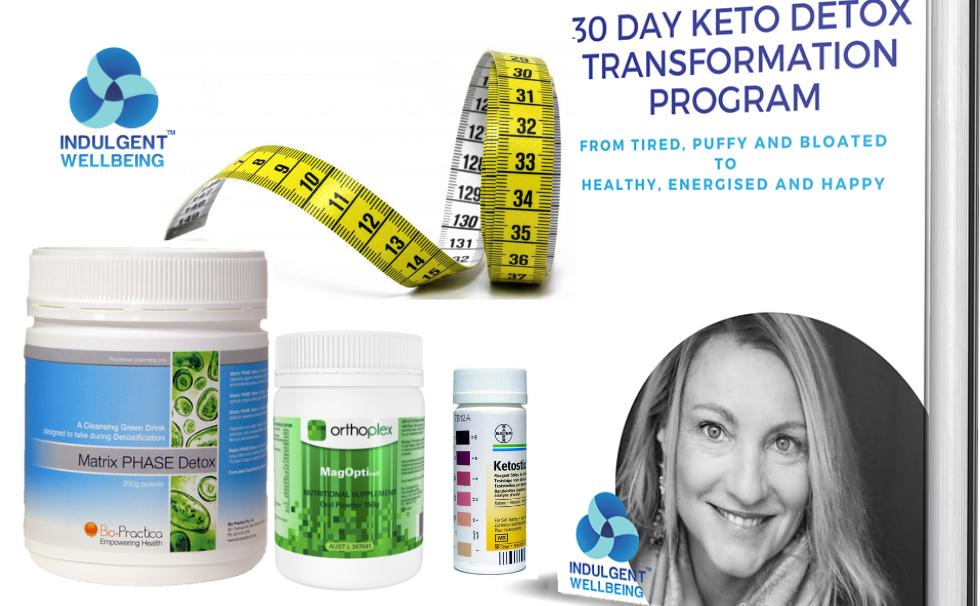 30 Day Keto Detox Transformation Program