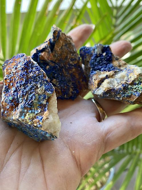 Azurite Gemstone Chunk