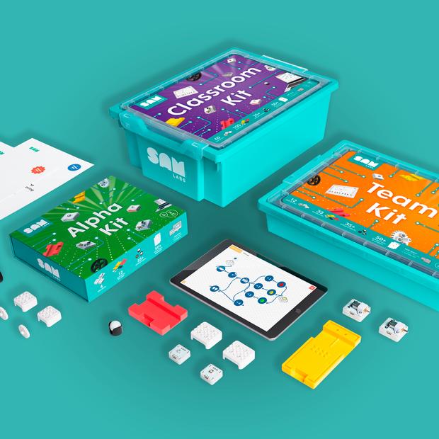 SAM Labs Packaging