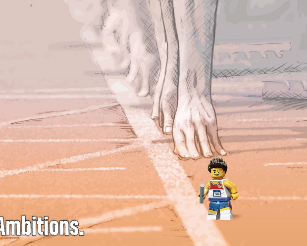 Little legs. BIG ambitions.