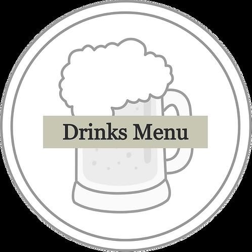 Drinks Menu