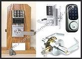 Commercial, Locks, Locksmith, Keys, Digital, Push-Buton