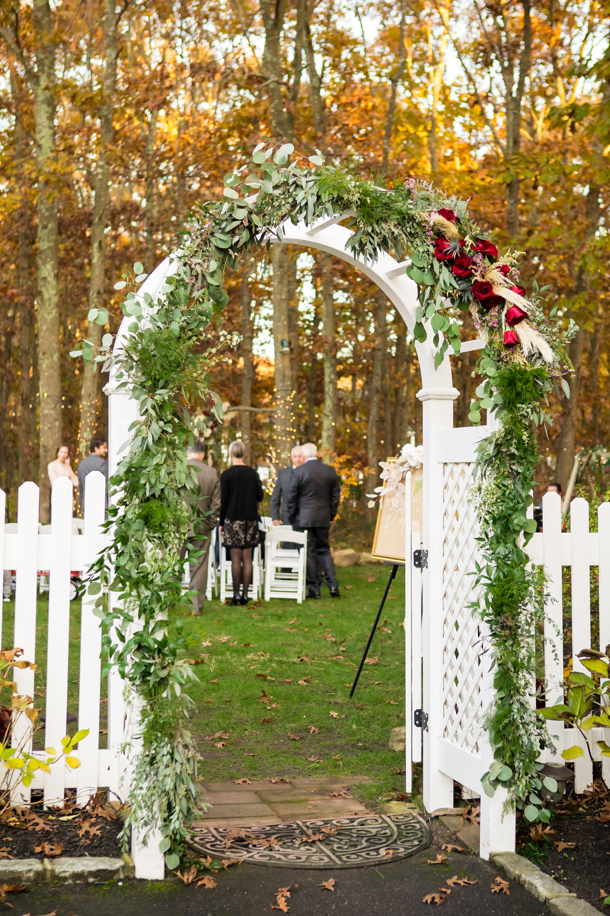 Nicholas Wedding arch
