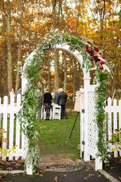Nicholas Wedding arch