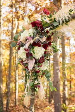 Nicholas Wedding ceremony arch