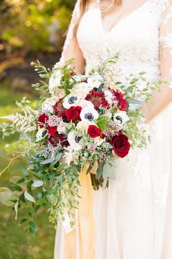 Nicholas Wedding bridal bouq