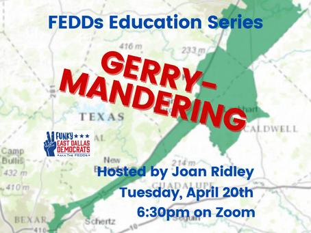 FEDDS Education Series - Gerrymandering