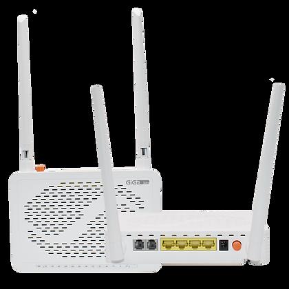 GPON ONU 4 GE+2 FXS+WiFi