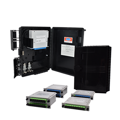 ODB Box with or without Cassette Type PLC Spliter