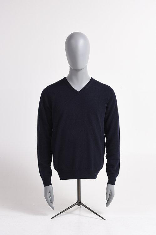 Pullover V-Neck 100 % Cashmere