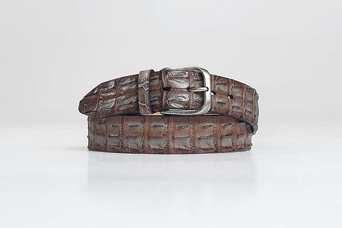 Krokodil-Ledergürtel