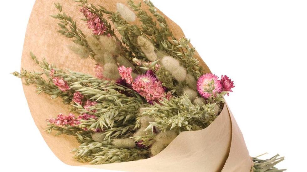Blumenmix Trockenblumenmix  Hafer, Delph, Helich 6x Bund