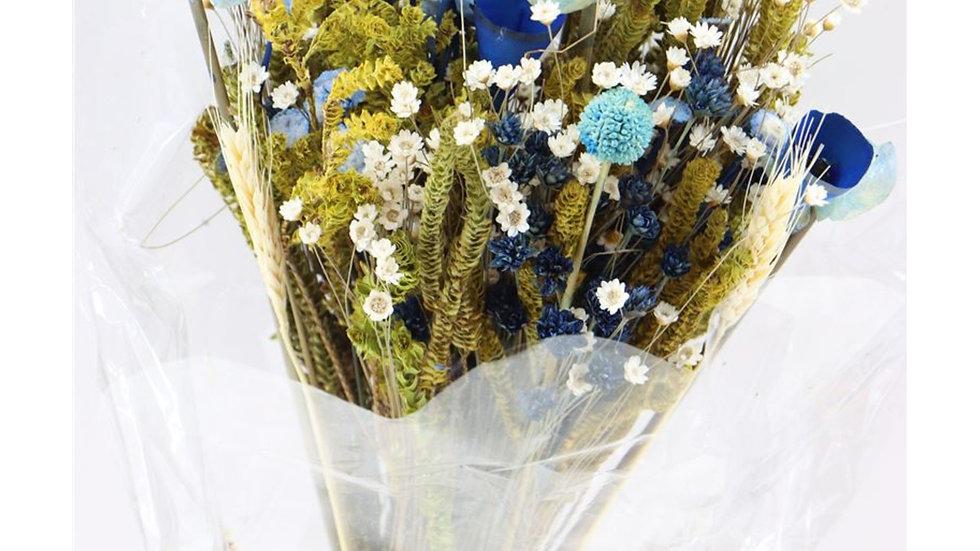 getrockneter Blumenstrauß  Fantasia-Blue x 1