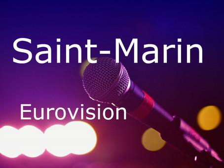 Saint-Marin - Chansons du Concours Eurovision de 2008 à 2020