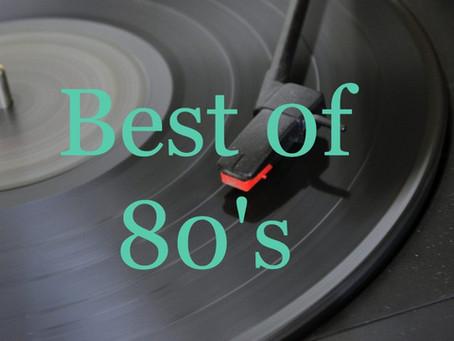 Playlist Meilleures chansons anglophones années 80 -  Les plus grands succès en anglais