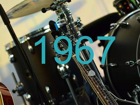 Hit Parade français de 1967 Top 1 à 15 - Vidéoclips des tubes les plus populaires