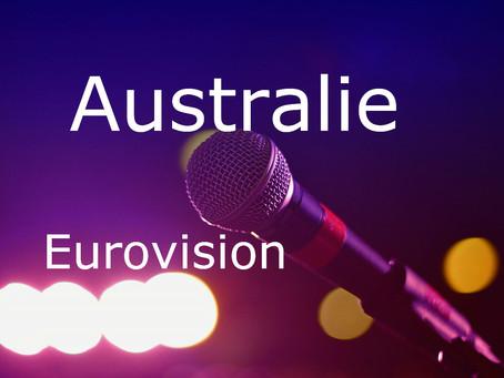 Australie - Chansons du Concours Eurovision de 2015 à 2020