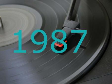 Hit Parade français de 1987 Top 1 à 15 - Vidéoclips des tubes les plus populaires