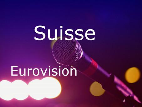 Suisse - Chansons du Concours Eurovision de 2006 à 2020