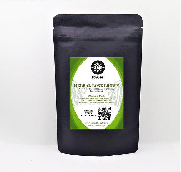 Herbal Rose Brown Henna