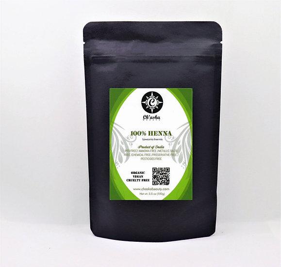 100% Henna (Lawsonia Inermis)